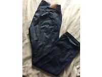 "River Island jeans width36"" length 34"