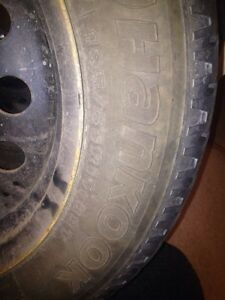 Snow tires 185/65/15 Kitchener / Waterloo Kitchener Area image 2