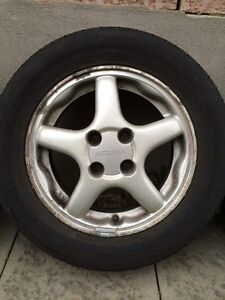 Selling rims and tires 195/60R14 Kitchener / Waterloo Kitchener Area image 5