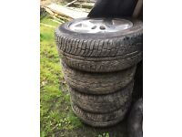 5 x 18inch Landrover discovery 2 alloys with tyres