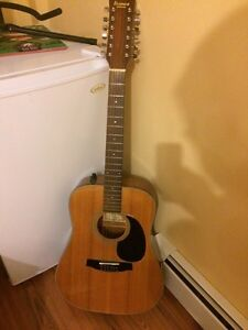 12 string Ibanez guitar for sale.  Awesome playing guitar!!