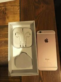iPhone 62, 64gb, Rose Gold (unlocked)