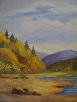 Fundy National Park ...   OIL on Canvas    PAINTING