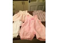 Baby girls clothes age 6-9 m