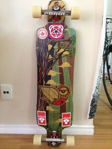 Rayne Longboard complete with Ronin precision trucks