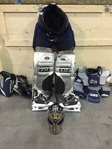 Adult hockey equipment