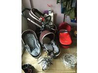 Icandy peach blossom tandem pushchair