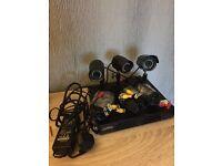 CCTV DVR System with Cameras