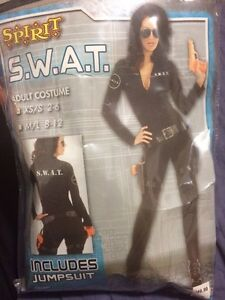 S.W.A.T. Womens costume XS/Small