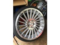 "19"" Rotiform INDT Alloy wheels and tyres"