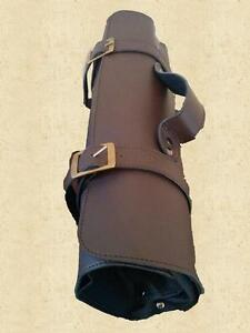 Brown Genuine Leather Knife Roll/Bag(option to personalize) Kitchener / Waterloo Kitchener Area image 3
