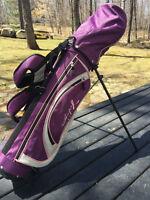 Sac de golf junior fille droitier