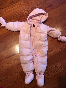 Gap snow suit toddler jacket 12 -18 months