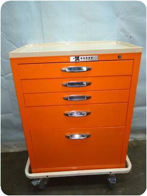 5 Drawers Tool Utility Cart Storage Cabinet 235101