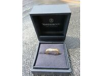 Ladies 18ct Gold Diamond Shaped Wedding Ring