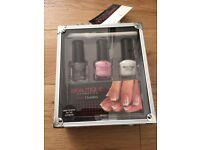 Manicure set with tools & polish - New unused