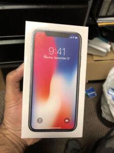 BRAND NEW 64 GB IPHONE X - Sealed