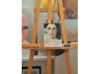 Realism oil painting portraiture class