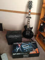 Ibanez Artist Series Guitar and Line 6 Amp