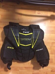CCM Goalie Premier Chest Pad. Int L/XL
