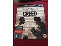 Creed 4k hdr uhd blu ray new sealed