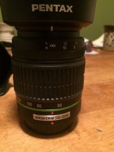 Pentax DSLR camera and lenses Kingston Kingston Area image 2