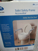 "Toilet safety arm supports ""as new"""