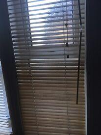 2x IKEA wooden blinds