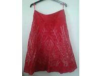 Monsoon silk skirt (size 12)