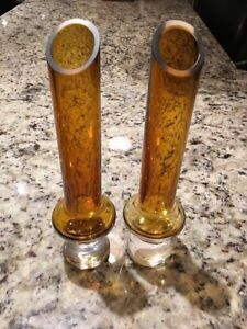 2 Matching Gold Candleholders from Homesense