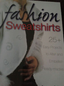 FASHION SWEATSHIRT PATTERN BOOK London Ontario image 1