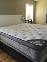 King size Legacy Signature mattress for sale! Like new