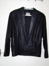 woman's leather jacket size 10 Eleebana Lake Macquarie Area Preview