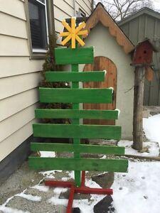 Rustic pallet Christmas tree Sarnia Sarnia Area image 1