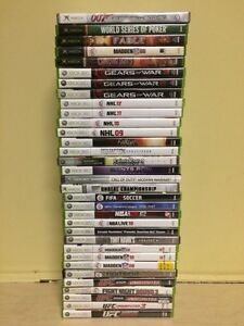 Xbox 360 and Original Xbox Games
