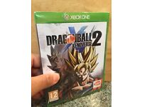 Dragonball Xenoverse 2 for Xbox One brand new sealed packaging