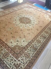Brand new beige extra large legacy rug PRP £300