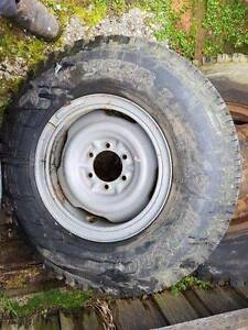7.50 x 16 Dunlop Road Gripper LT Tyres Launceston Launceston Area Preview