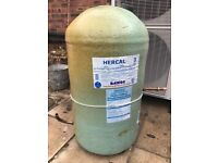 Copper water cylinder - 117 litres capacity