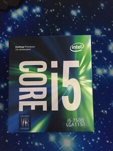 Selling a brand new Intel i5 7500 (sealed in box)