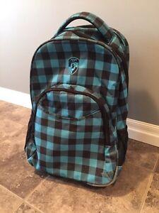 Heys rolling backpack - carry on luggage Kitchener / Waterloo Kitchener Area image 2