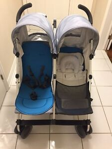 Uppababy Glink double umbrella stroller