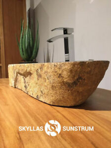 STONE VESSEL SINKS AND BATHROOM FURNITURE