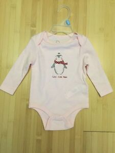 New with tags 3-6 month Christmas Oneies  Prince George British Columbia image 1