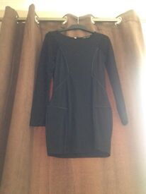 Love Label Black Dress Size 10