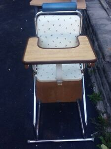 Vintage high chair Kitchener / Waterloo Kitchener Area image 3