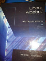 Linear Algebra with Applications 7th ed (Nicholson)