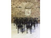 10 Bentwood chairs