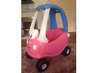 Little Trike Pink Car