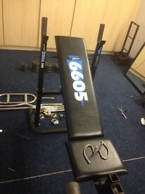 Weight lifting bench only no equipment with it